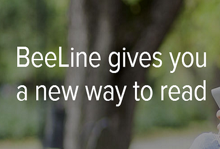 BeeLine Reader Chrome Extension for Teachers