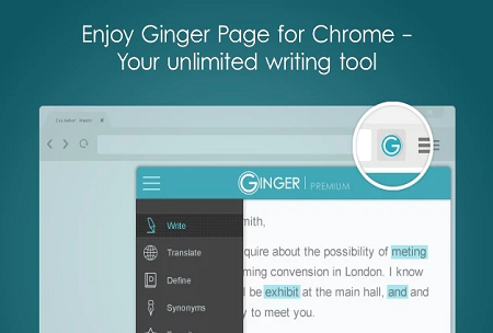 Ginger Chrome Extension for Educators